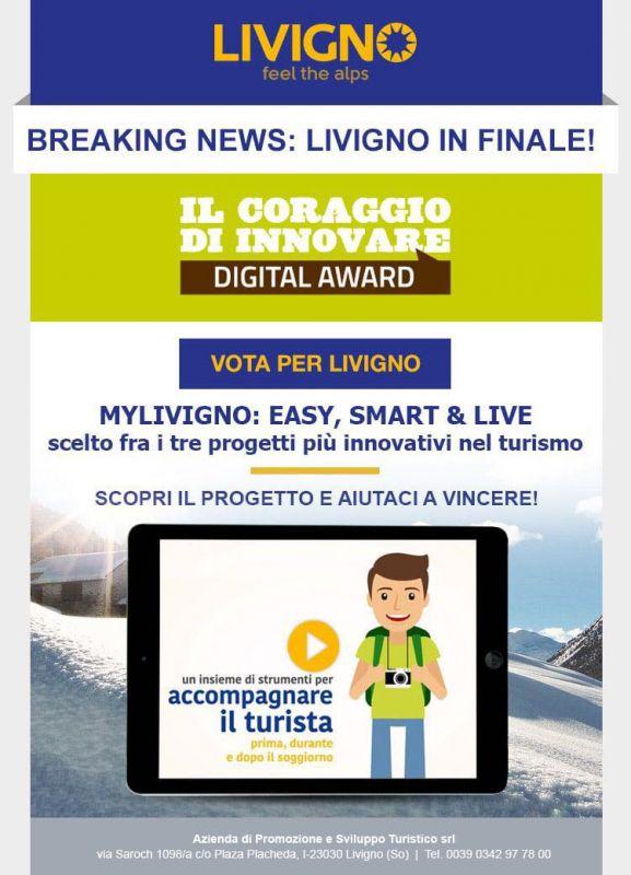 Davigel per i propri clienti: Alpi e la sua Livigno - Vota e ...